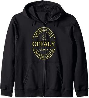 OFFALY Fan Gaelic Football Zip Hoodie