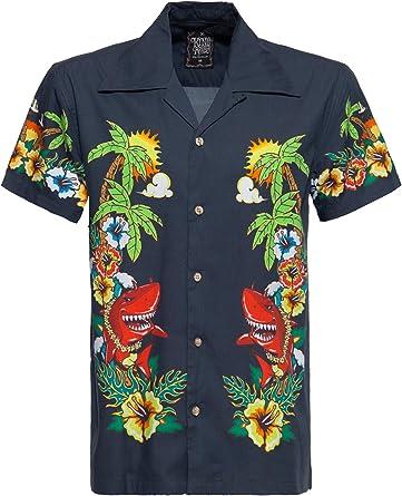 King Kerosin Mermaid Camisa para Hombre