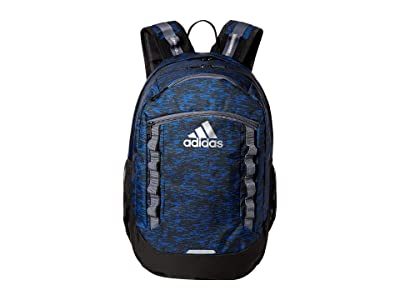 adidas Excel V Backpack (Bookendc Ollegiate Royal/Black/Onix/Silver) Backpack Bags