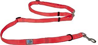 Canine Equipment Technika Beyond Control 3/4 Inch Dog Leash, 4 in 1 Leash, Orange