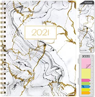 """$21 » HARDCOVER 2021 Planner: (November 2020 Through December 2021) 8.5""""x11"""" Daily Weekly Monthly Planner Yearly Agenda. Bookmar..."""