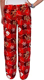 Women's Ultra-Soft Character Plush Drawstring Pajama Pant