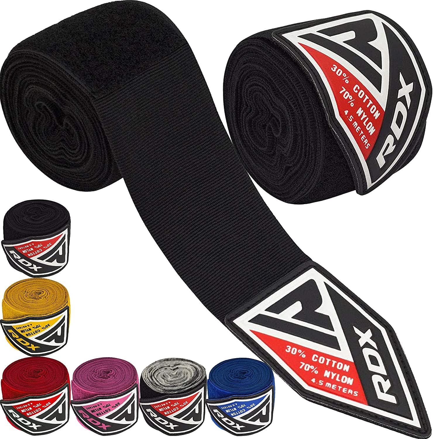 RDX All items in the store Boxing Hand Wraps Inner Ranking TOP5 Gloves 180 4.5 Meter Inches Elastic