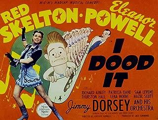 Odsan Gallery I Dood It, Eleanor Powell & Red Skelton, Jimmy Dorsey, 1943 - Premium Movie Poster Reprint 28