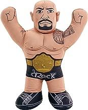 WWE Championship Brawlin Buddies The Rock Figure
