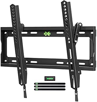 "USX MOUNT Tilt TV Wall Mount Low Profile, Tilting TV Mount Bracket for Most 26-55"" Flat Screen LED, LCD, OLED, 4K TVs..."