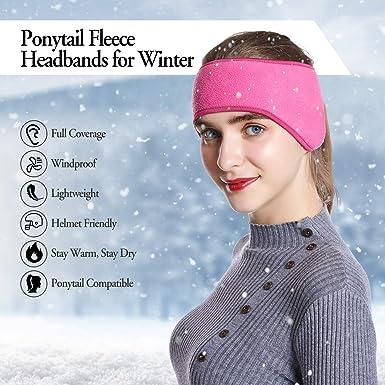 EAGLES Royal Blue Glitter Sparkle Fleece Headband Earwarmer