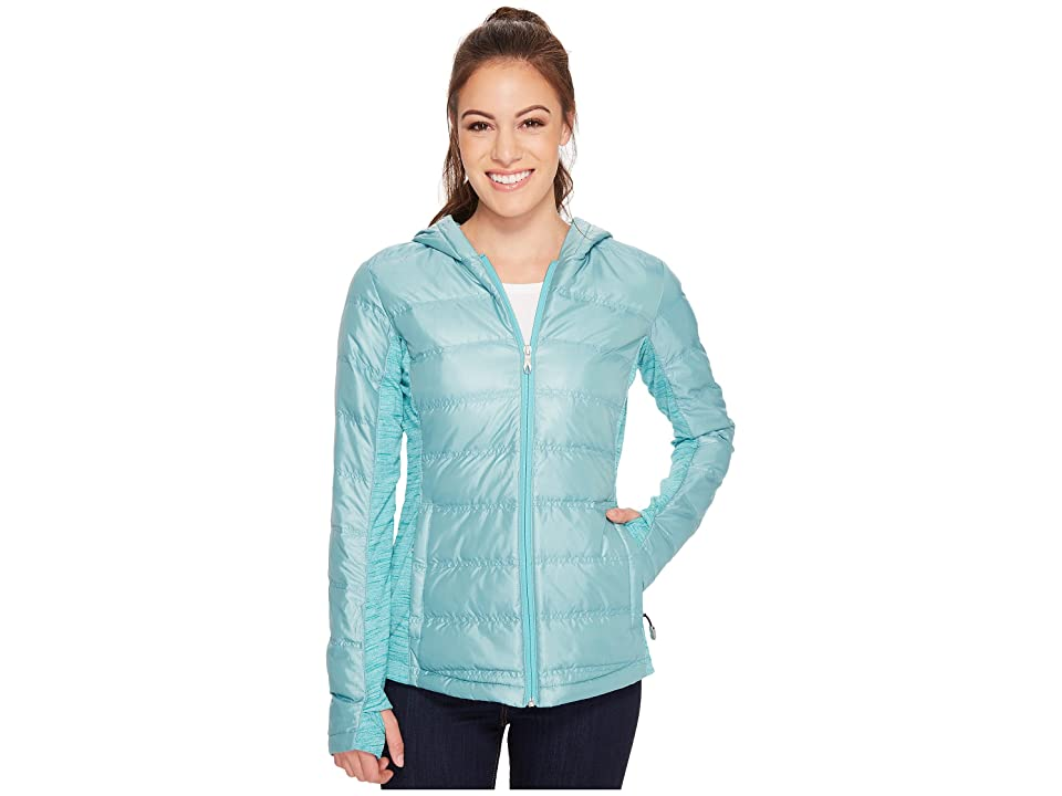 Spyder Solitude Hoodie Down Insulator Jacket (Baltic/Baltic) Women