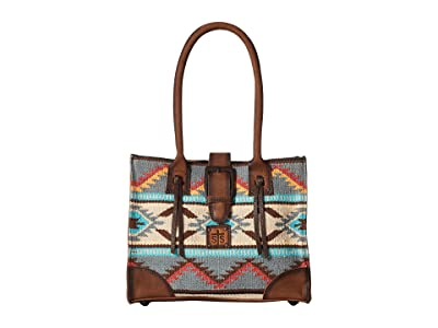 STS Ranchwear Serape Belt Bag (Tornado Brown/Serape) Handbags
