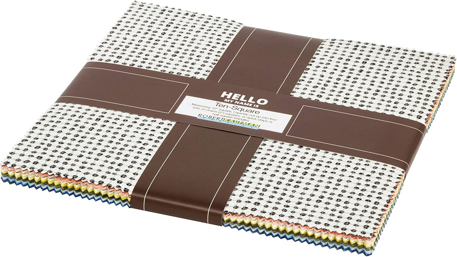 Carolyn Friedlander Jetty Ten Square Max 63% OFF Ca 42 Layer 10-inch Many popular brands Squares