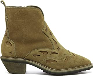 KELSI DAGGER Brooklyn Cliff Genuine Suede and Genuine Leather Boots