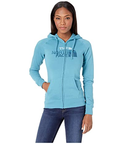 The North Face Half Dome Full-Zip Hoodie (Storm Blue/Storm Blue Multi) Women