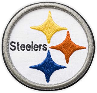 3D Pittsburgh Steelers Embroidered Logo Iron on Patch Steeler Nation