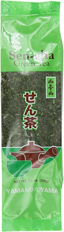 Yamamotoyama Loose Sencha Green Tea 7 Ounce Bags Pack Of 6
