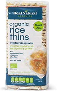 Real Natural, Galleta Multigrano Y Quinoa, 130 Gr.