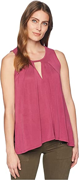 Sand Wash Cut Out Tunic Top