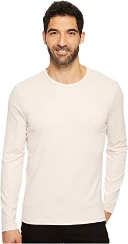 Long Sleeve Two-Tone Crew
