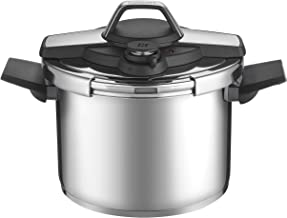 Cuisinart CPC22-6 Professional Collection Stainless Pressure cooker, Medium, Silver
