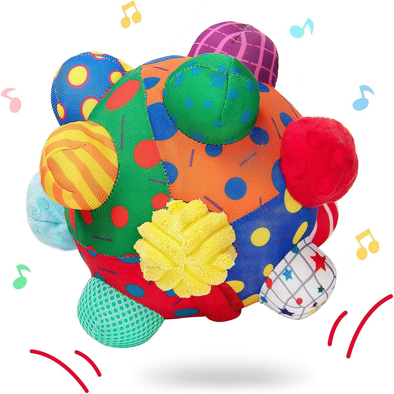 teytoy Baby Music Shake safety Max 47% OFF Dancing Ba Bumpy Toy Developmental Ball