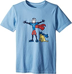 Life is Good Kids - Superhero Jake & Rocket Crusher Tee (Little Kids/Big Kids)