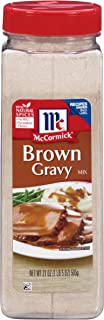 McCormick Brown Gravy Mix, 21 Ounce (Pack of 1)