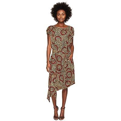 Vivienne Westwood Short Sleeve Balloon Dress (Leopard) Women