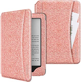 MoKo Case Fits All-New Kindle (10th Generation, 2019) / Kindle (8th Generation, 2016), PU Leather Smart Auto Wake/Sleep Co...