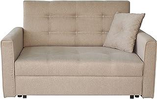 Mobel Wohnen Schlafsofa 3 Sitzer Sofabett Couch Klappsofa
