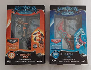 Lightseekers Weapon 2 Pack Bundle, Spinblade 3000, Electro EEL