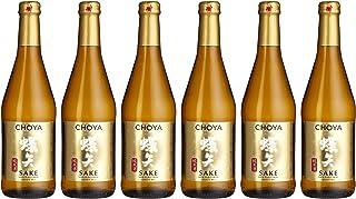 Choya Sake japanischer Reiswein Alkoholhaltiges Getränk, Junmai Sake, aromatisch, 14,5% vol. 6er Pack 6 x 0,5l