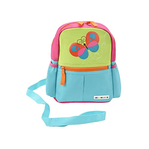 69797916455 Alphabetz Butterfly Toddler Backpack with Leash