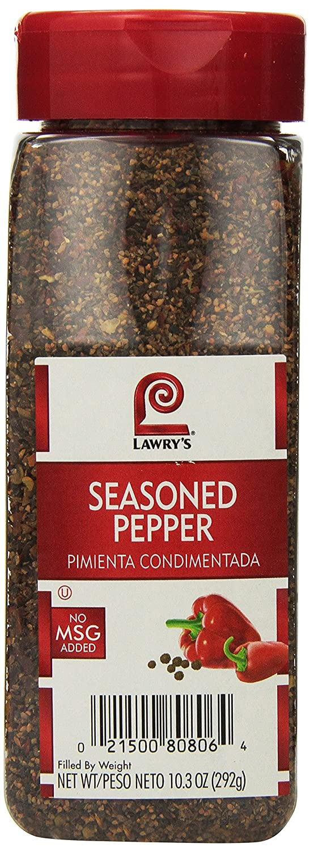 Lawrys Seasoned Arlington Mall Pepper - 10.3 Max 72% OFF case per oz. container 6
