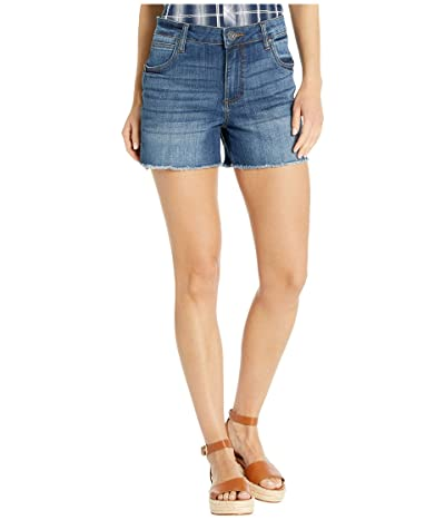 KUT from the Kloth Gidget High-Rise Frey Shorts (Affectionate) Women