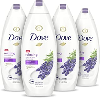 Dove Body Wash for Softer and Smoother Skin After Just One Use Lavender Oil and Chamomile Stress Relieving and Calming 22 ...