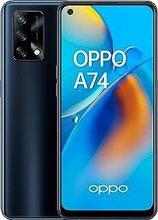 "OPPO A74 - Pantalla 6,43""(AMOLED FHD+, 6 GB RAM+ 128 GB Almacenamiento, Qualcomm Snapdragon 662, Cuádruple cámara 48++2+2 ..."