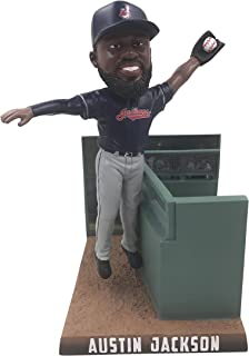 Forever Collectibles Austin Jackson Cleveland Indians 2017 Catch of the Year Bobblehead MLB