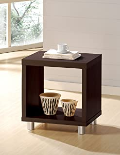 ACME 06611 Tustin End Table, Espresso Finish