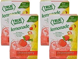 True Citrus STRAWBERRY LEMONADE (Pack of 4) 10ct each box