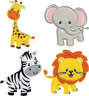 applique jungle animals