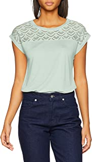 Only Onlnicole S/S Mix Top Noos Camiseta para Mujer