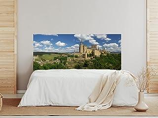 Oedim Cabecero Cama Castillo Segovia Alcázar, cabecero Decorativo para Camas, decoración para Habitaciones