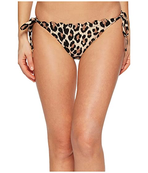 Kate Spade New York Crystal Cove #70 Scalloped String Bikini Bottom