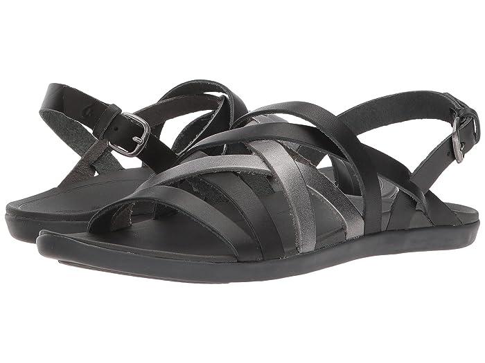 'Awe'Awe  Shoes (Dark Shadow/Pewter) Women's Sandals