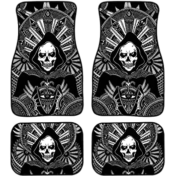 MODEGA Car Decorations Dinosaur Kids Floor Mats for Car SUV /& Truck Protection 4 PCS Soft and Easy to Put on The Seats Rubber