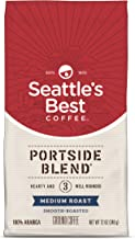 Seattle's Best Coffee Portside Blend (Previously Signature Blend No. 3) Medium Roast Ground Coffee, 12 Ounce (Pack of 1)