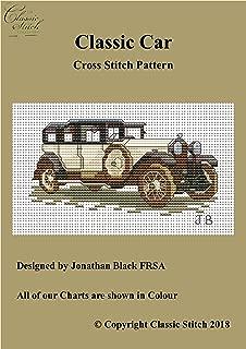 Classic Car Cross Stitch Pattern