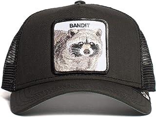 Goorin Brothers Animal Farm Snap Back Trucker Hat Black Bandit One Size