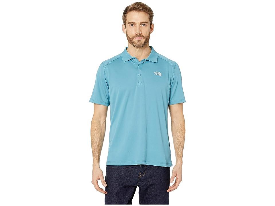 The North Face Short Sleeve Horizon Polo (Storm Blue) Men