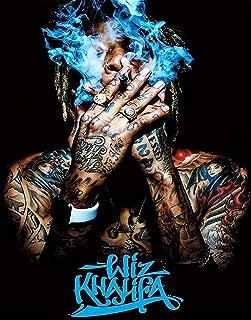 Wiz Khalifa Smoking Poster - Unframed 11x14 Inches Canvas Art Print
