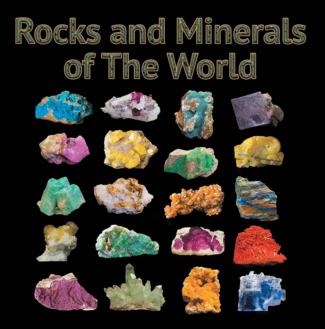 Rocks and Minerals of The World: Geology for Kids - Minerology and Sedimentology (Children's Rocks & Minerals Books) (English Edition)
